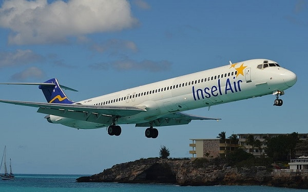 insel air, curacao, md-83