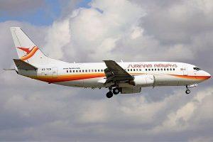 slm, surinam airways, boeing 737, pz-tcn