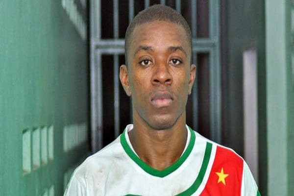 gregory rigters, speler, suriname, voetbal