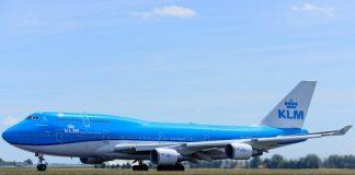 klm, boeing 747, vliegtuig
