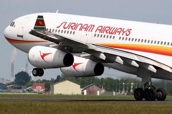 slm, airbus a340, surinam airways, suriname