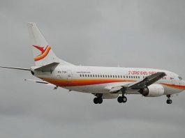 surinam airways, boeing 737, slm, aviation
