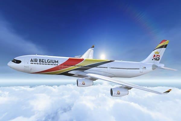 air belgium, airbus a340