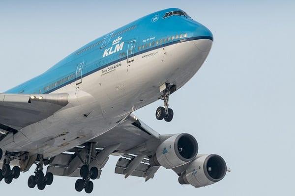 klm, boeing 747-400