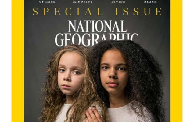 national geographic, magazine, race issue, april 2018