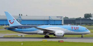 tui dreamliner 787, boeing