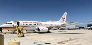 slm, boeing 737-700, surinam airways