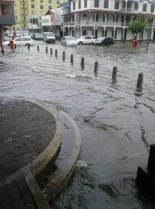 suriname, wateroverlast, regen, paramaribo1