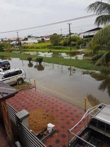 suriname, wateroverlast, regen, paramaribo6