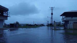 suriname, wateroverlast, regen, paramaribo7