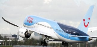 boeing 787 dreamliner, tui