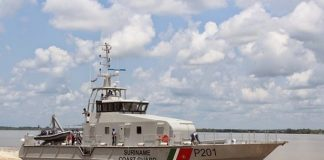 suriname, coast guard, boot