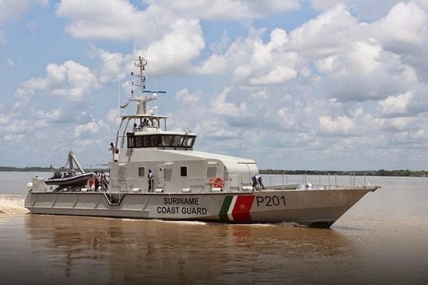 suriname, coast guard, boot