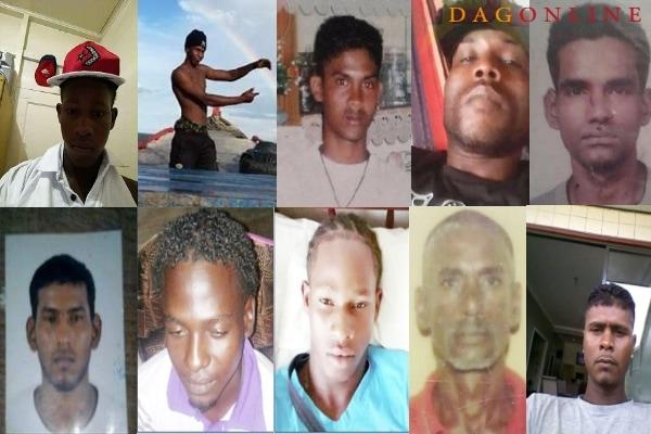 vermiste vissers guyana, suriname