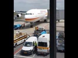 airbus aankomst schiphol, 31 mei 2019