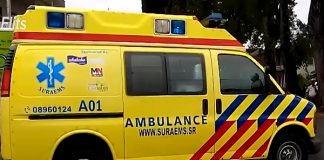ambulance, suriname-