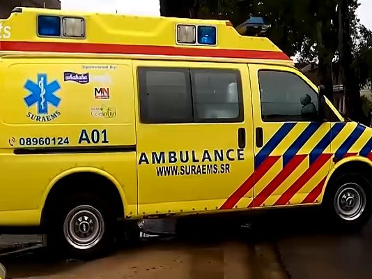 ambulance, suriname-