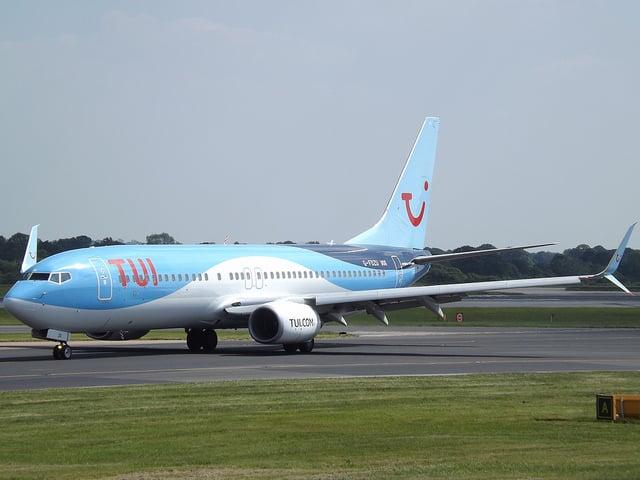 boeing 737-800, tui