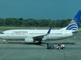copa airlines, suriname, boeing 737