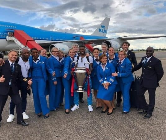 klm, wijnaldum, champions league