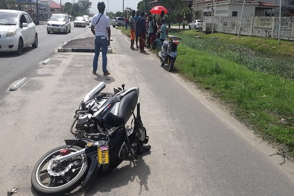 ongeval suriname, 7 januari 2019