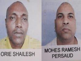ontsnapte gevangenen suriname 8 juni 2019