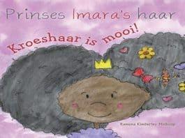 prinses imaras haar kroeshaar is mooi
