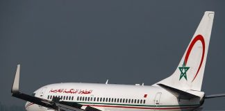 royal air maroc, boeing 737-700
