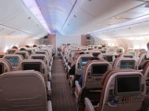 singapore airlines, boeing 777-200ER-economy