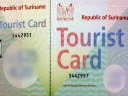 toeristenkaart suriname
