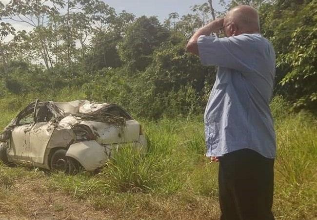 verkeersongeluk oostwestverbinding 12 maart 2019